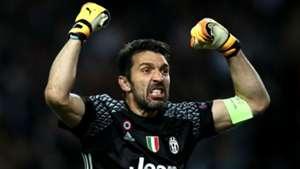 Gianluigi Buffon Monaco Juventus UEFA Champions League 03052017