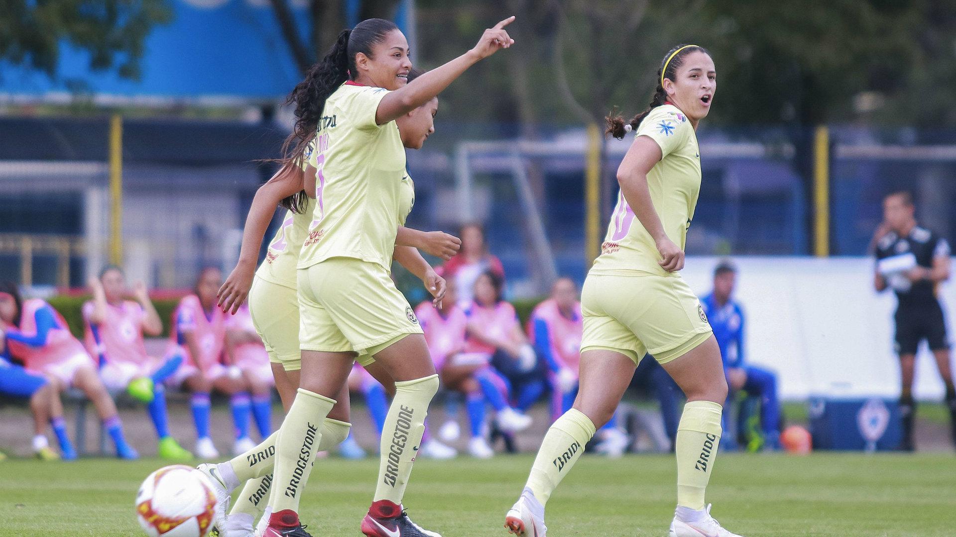 América vs Cruz Azul Liga MX Femenil