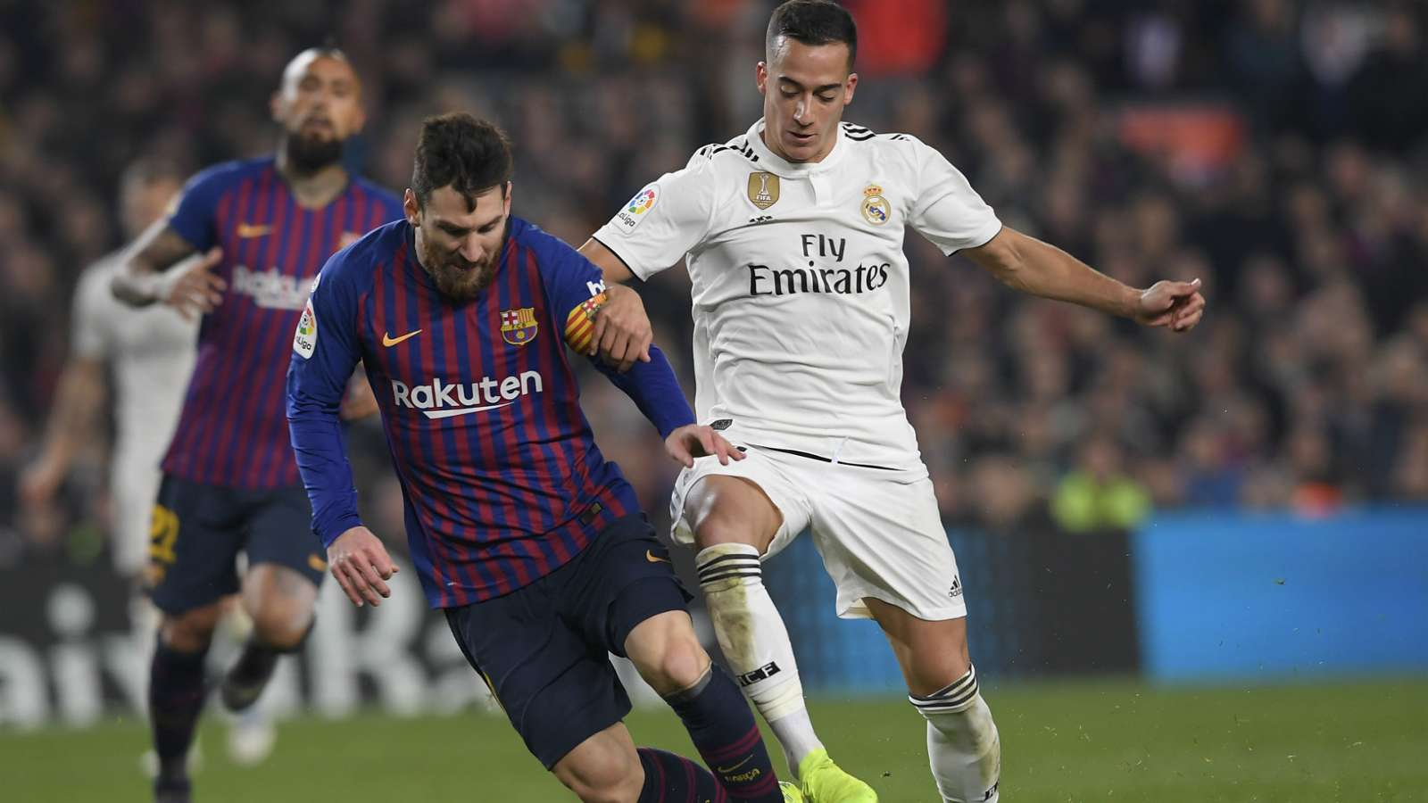 FC Barcelone 1-1 Real Madrid : Le Barça et le Real Madrid dos à dos