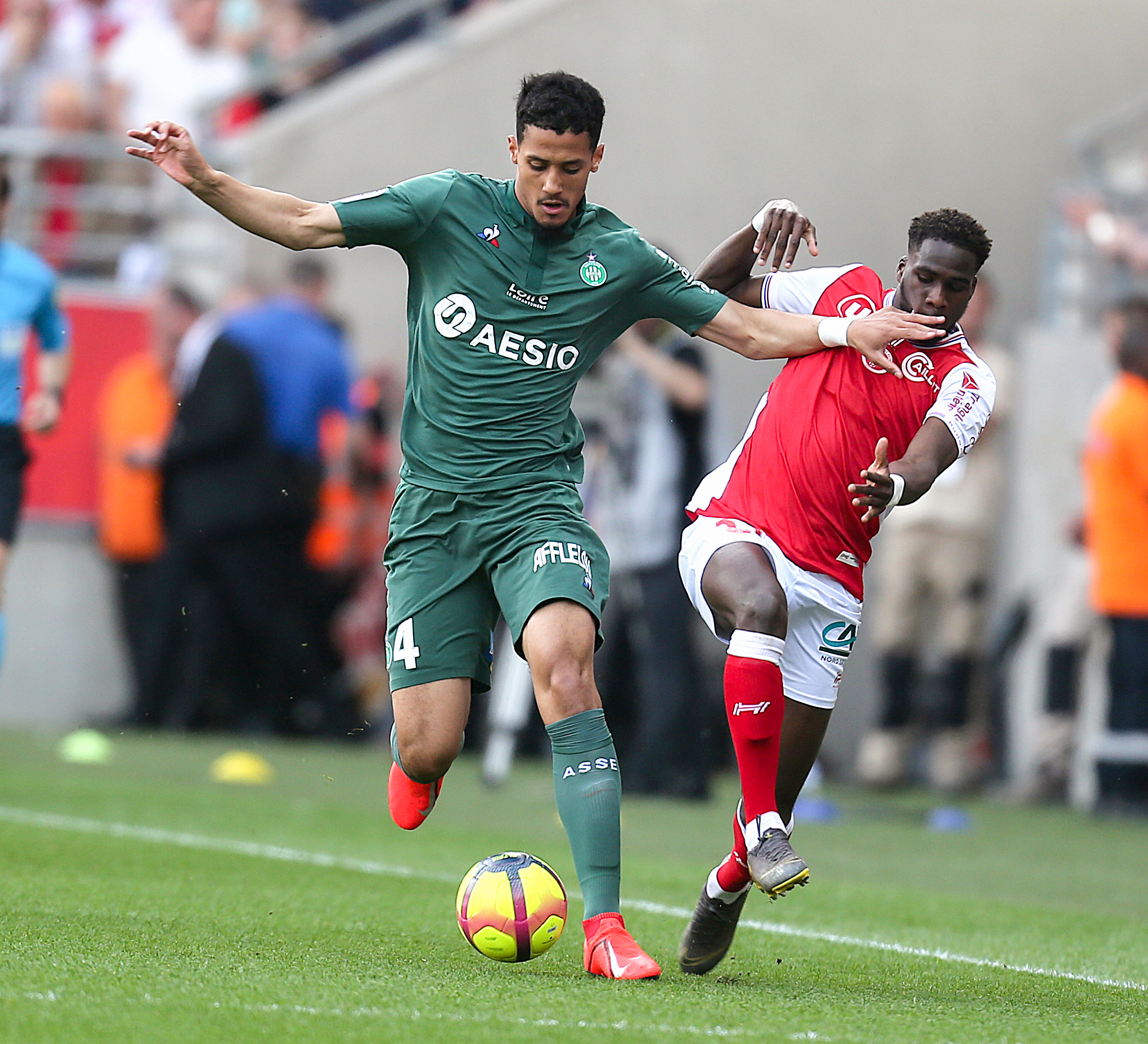 William Saliba Saint-Etienne 2018/19