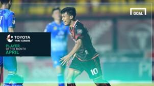 Goal TTL Player of the Month : อ่อง ธู (เมษายน)