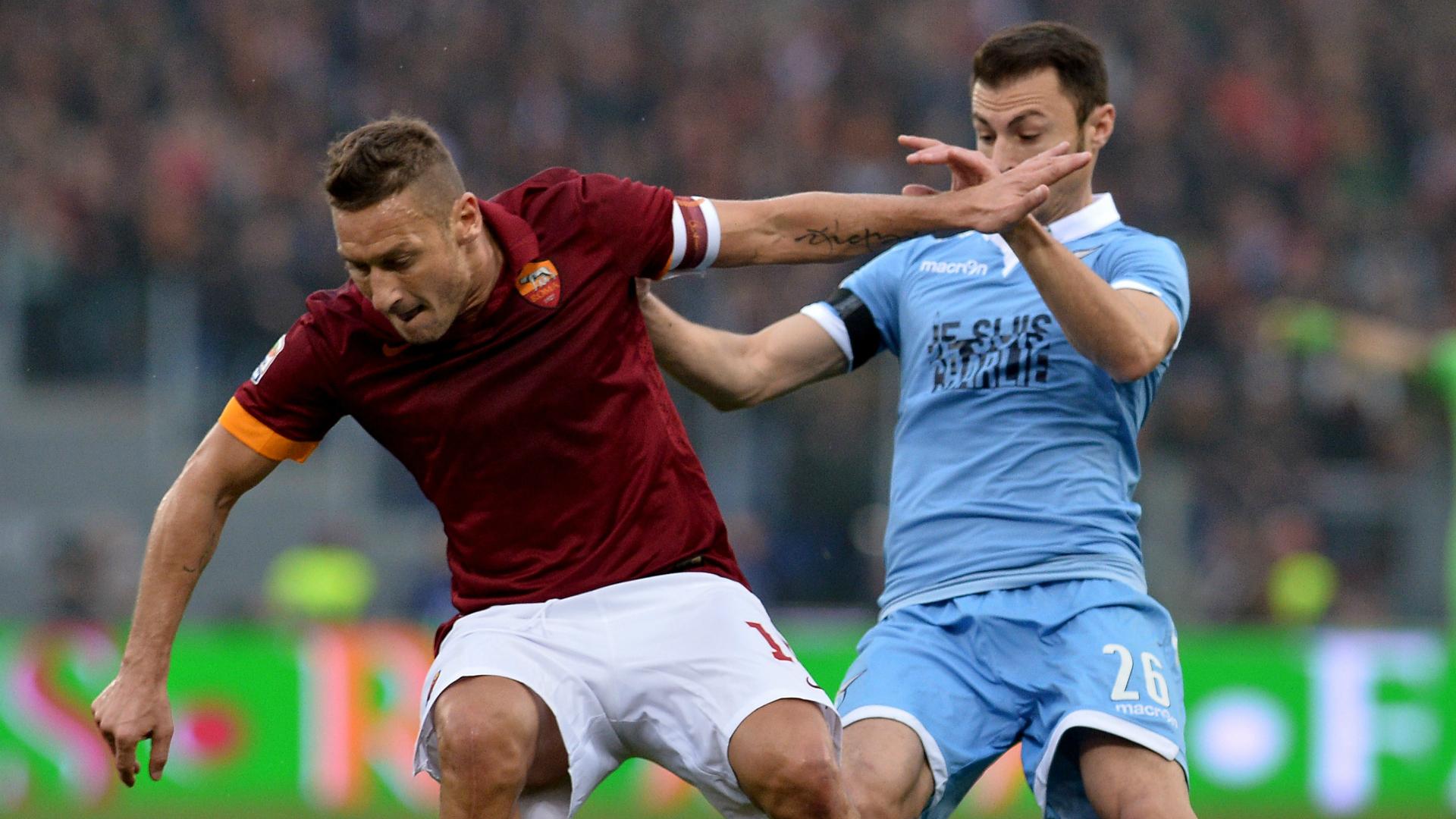 Totti Radu Roma Lazio Serie A