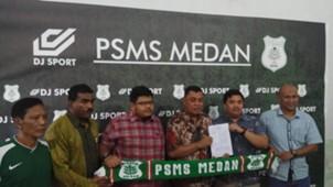 Launching Jersey PSMS Medan Piala Presiden