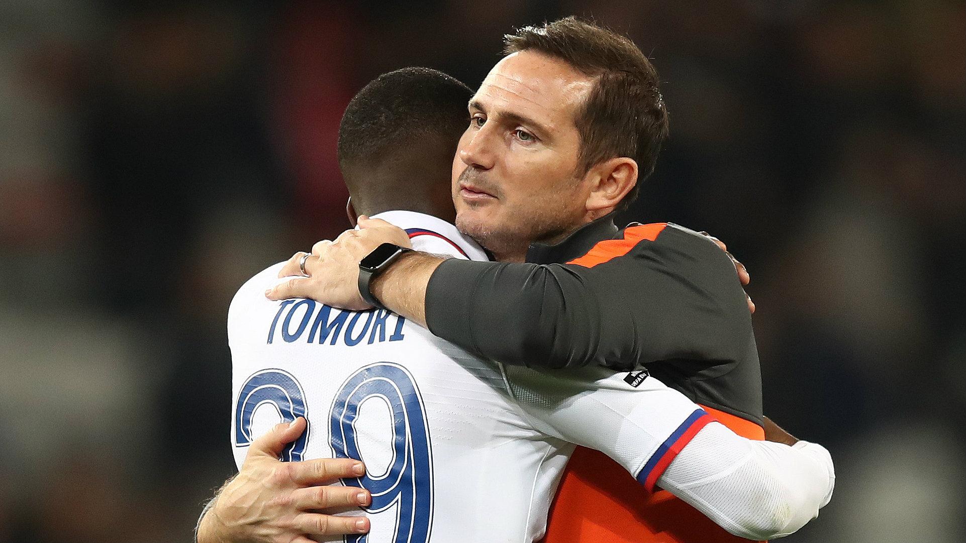 Frank Lampard Fikayo Tomori Chelsea 2019-20