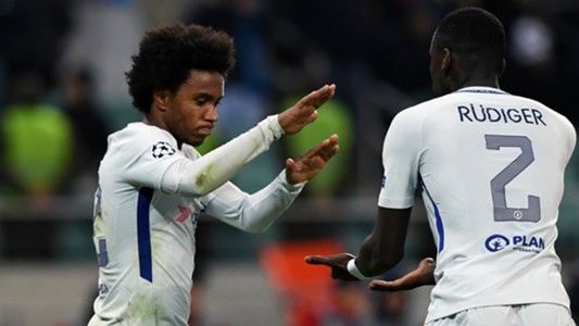 Willian Antonio Rudiger Chelsea