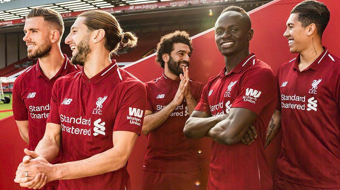 Liverpool Home Kit 2018/19