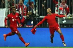 *NO GALLERY* Thiago Coman FC Bayern München