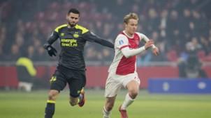 Frenkie de Jong, Ajax - PSV, 10122017