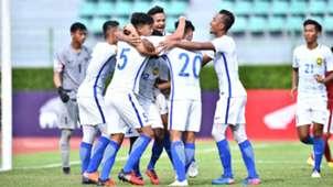 Kualifikasi Piala Asia U-23: Selebrasi Gol Malaysia