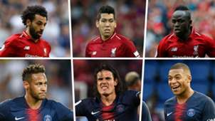 Liverpool vs PSG trios split