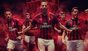 Milan kit home 2018/19