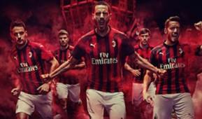 Milan kit home 2018/19