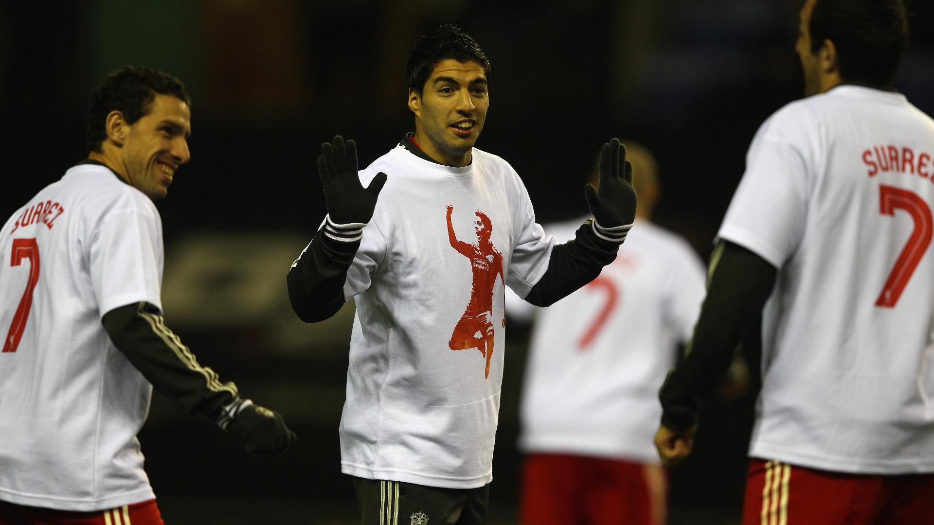 Suarez t-shirt Liverpool