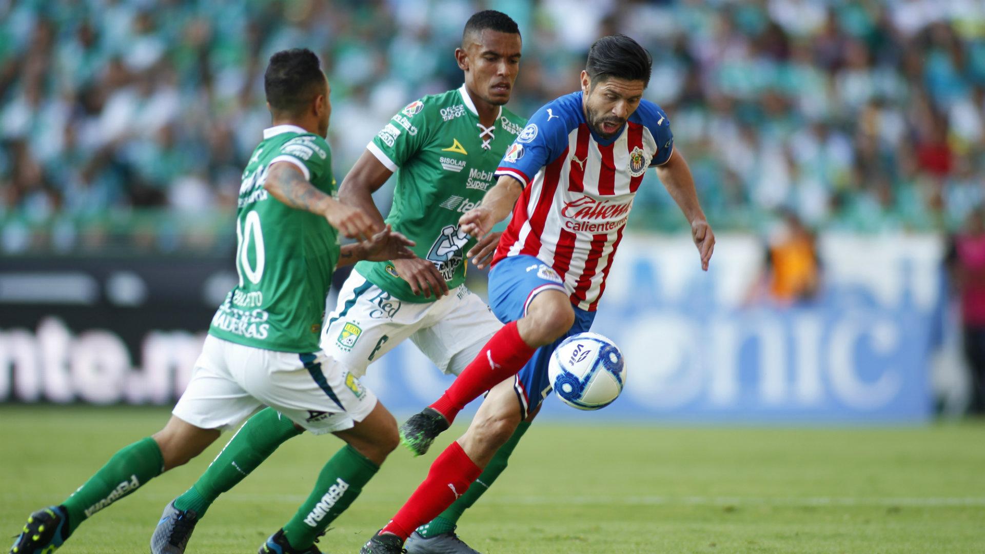 Oribe Peralta Chivas Apertura 2019