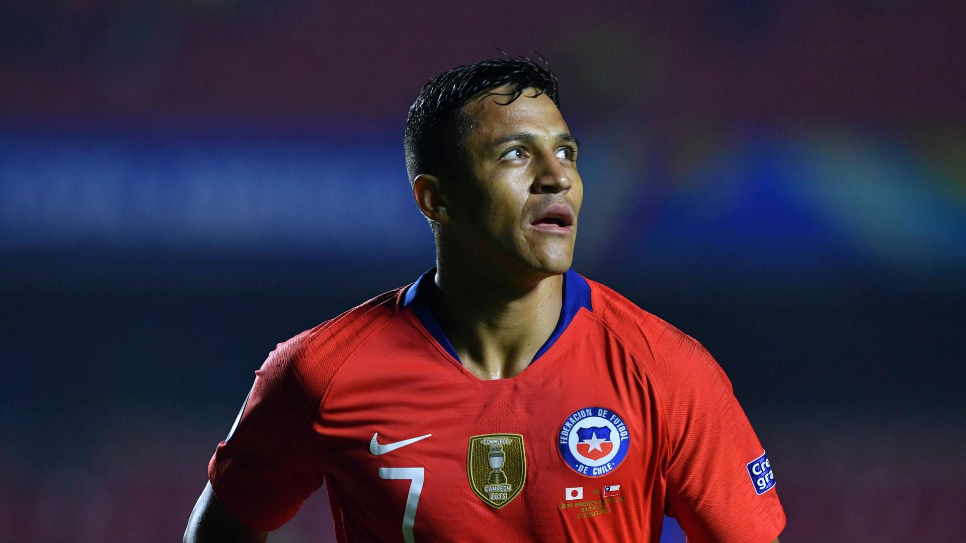 Alexis Sanchez Chile Copa America