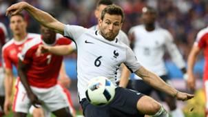Yohan Cabaye Switzerland France UEFA Euro 2016 19062016