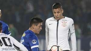 Guilherme Arana Universidad Chile Corinthians Sudamericana 10052017