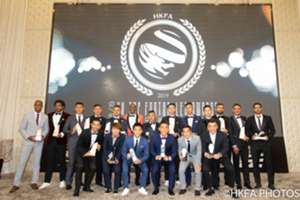 Hong Kong Footballer annual award.
