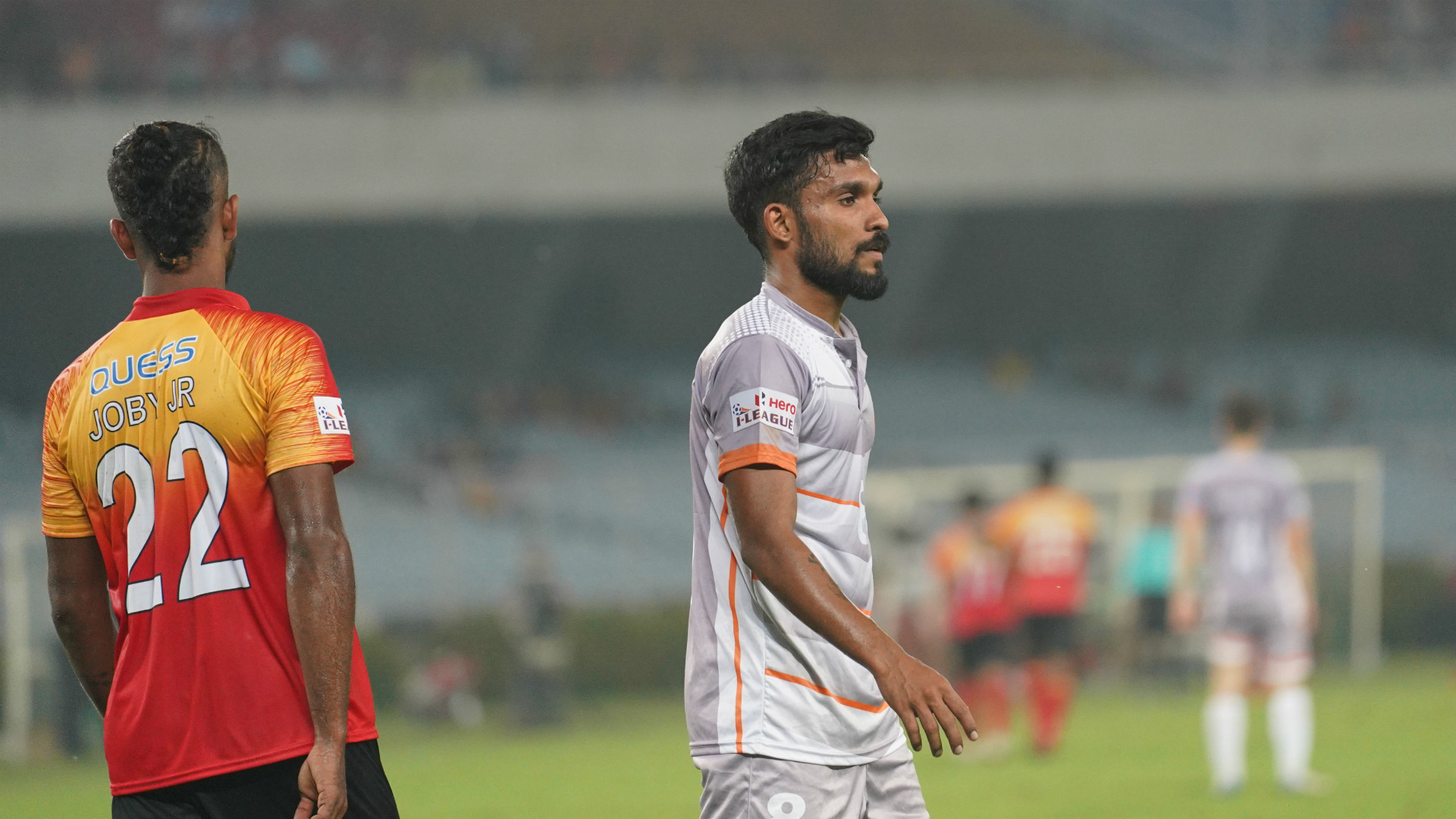 Alexander Jesuraj East Bengal Chennai City FC I-League 2018-19 11132018