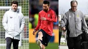 Pochettino Messi Bielsa