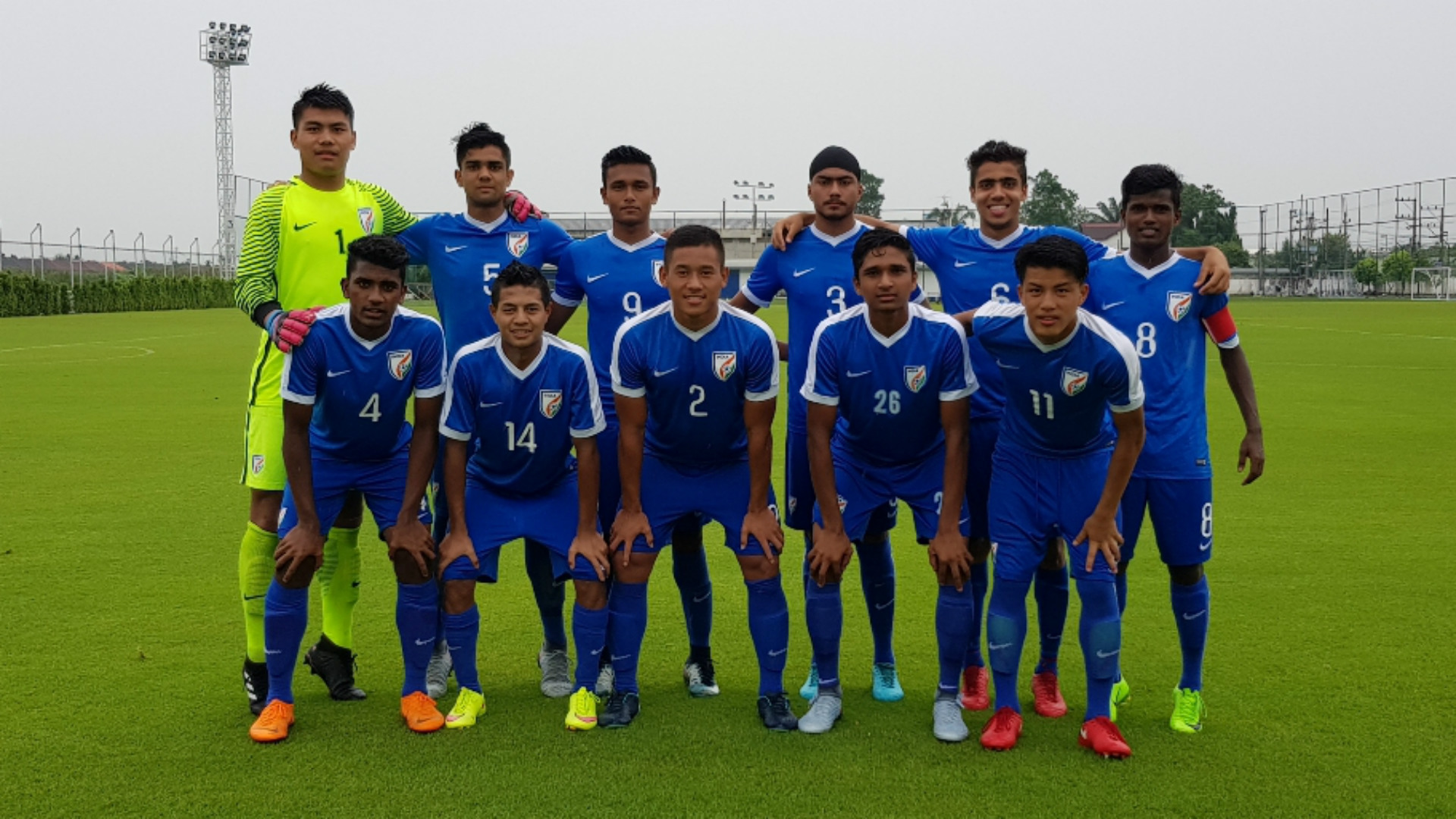 India U16 XI v Bangkok Glass FC U17