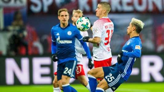 Schalke Leipzig Bundesliga 01132017