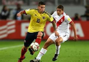 James Rodriguez Peru Colombia Eliminatorias 10102017