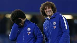 Willian David Luiz Chelsea