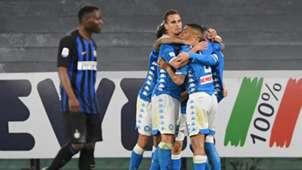 Napoli Inter celeb