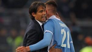 Simone Inzaghi Milinkovic-Savic Roma Lazio Coppa Italia