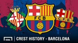 FC Barcelona crest history