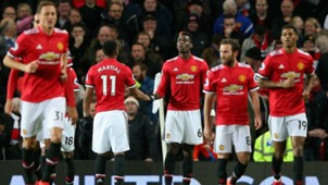 Manchester United celebrate vs Newcastle