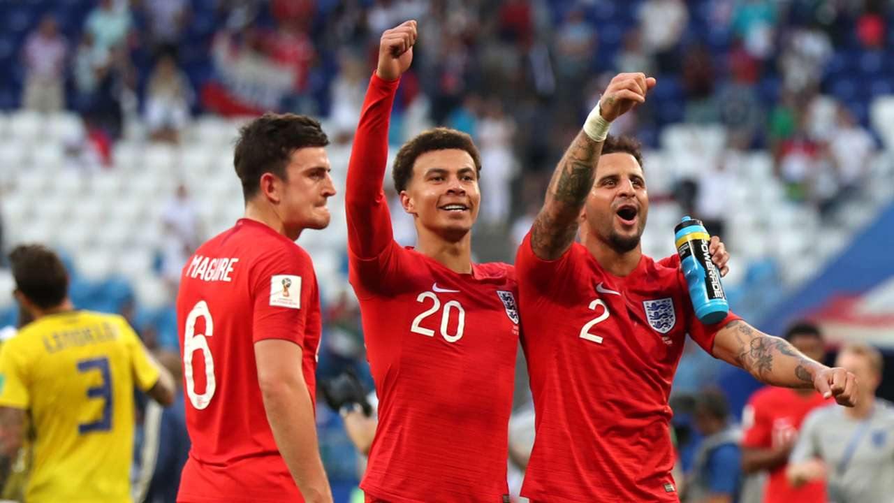 England World Cup Maguire Alli Walker