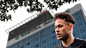 GFX Neymar Hospital