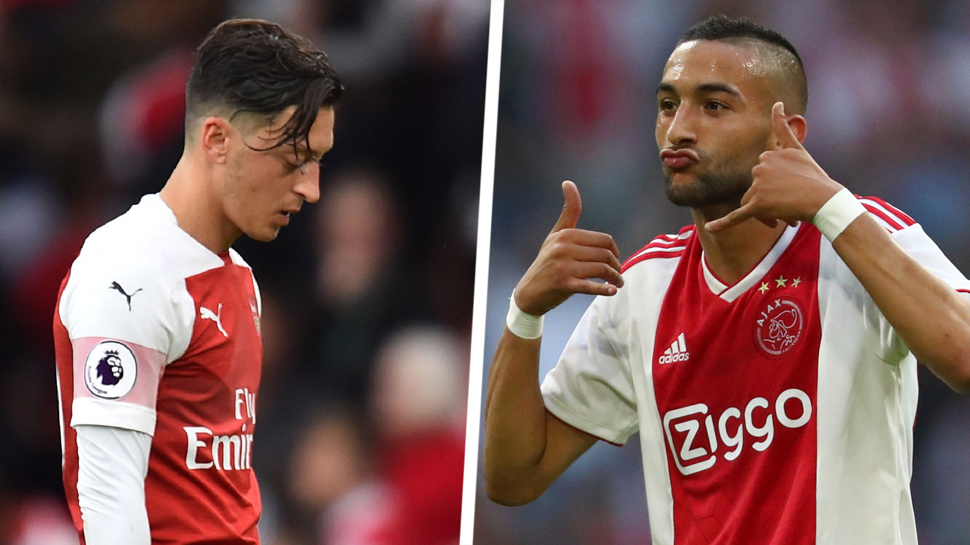 Overmars - 'Sell Ozil and get Ziyech for half the price'