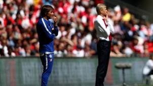 Wenger - Conte - Community Shield 2017 - Arsenal - Chelsea