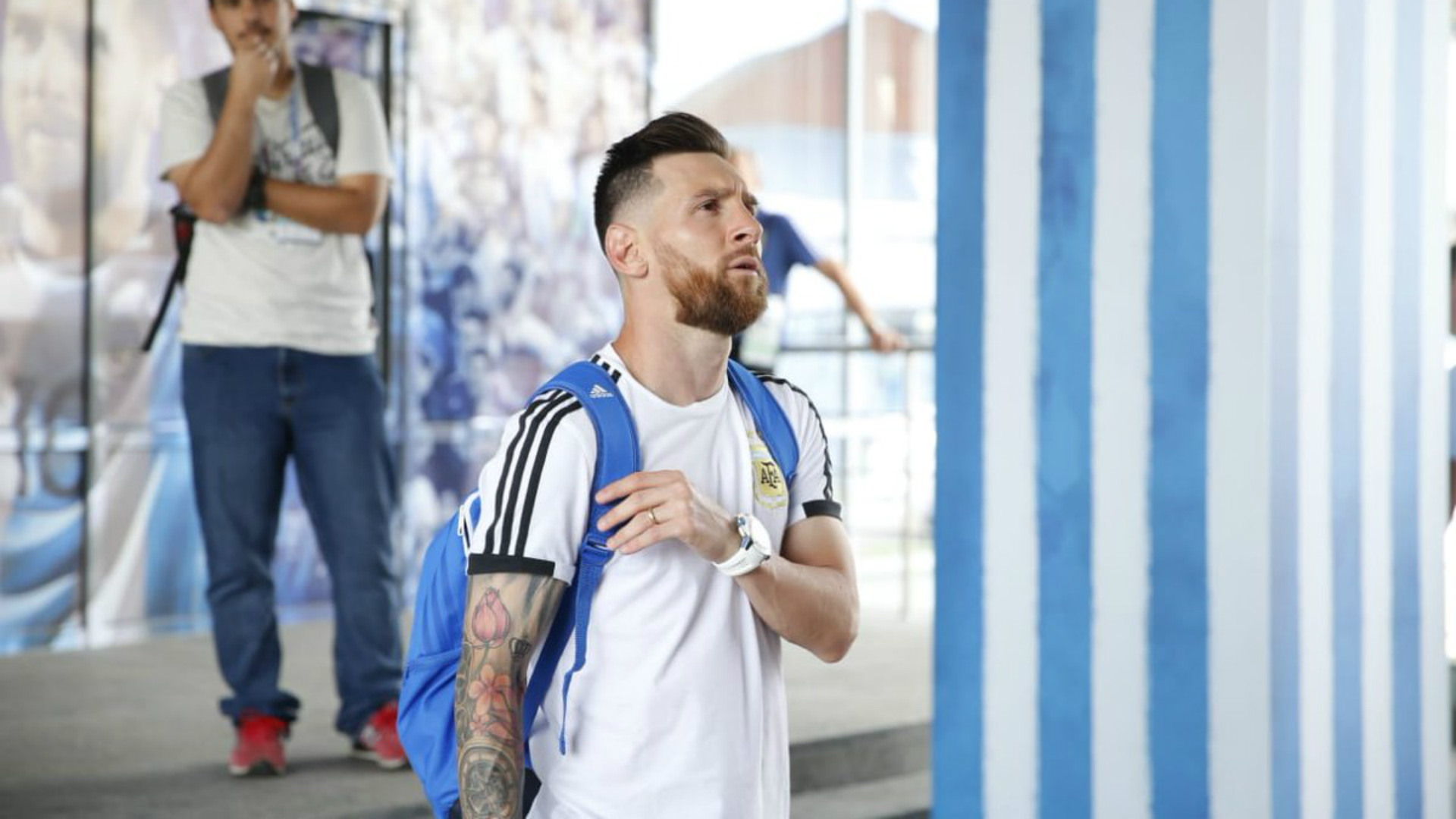 Lionel Messi Argentina Training 2018 World Cup