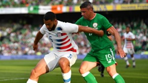 Cameron Carter-Vickers Jonathan Walters Ireland USA international friendly 2018