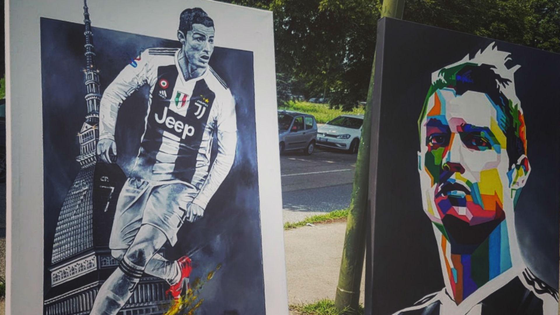 Juventus, bagno di folla per Ronaldo e Dybala: sorrisi e autografi