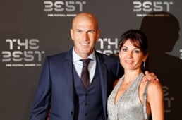 ZIDANE THE BEST AWARDS