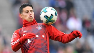James Rodriguez Bayern Munich Bundesliga 2018