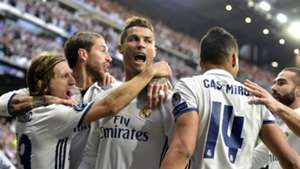 Cristiano Ronaldo Real Madrid Atletico Madrid Champions League