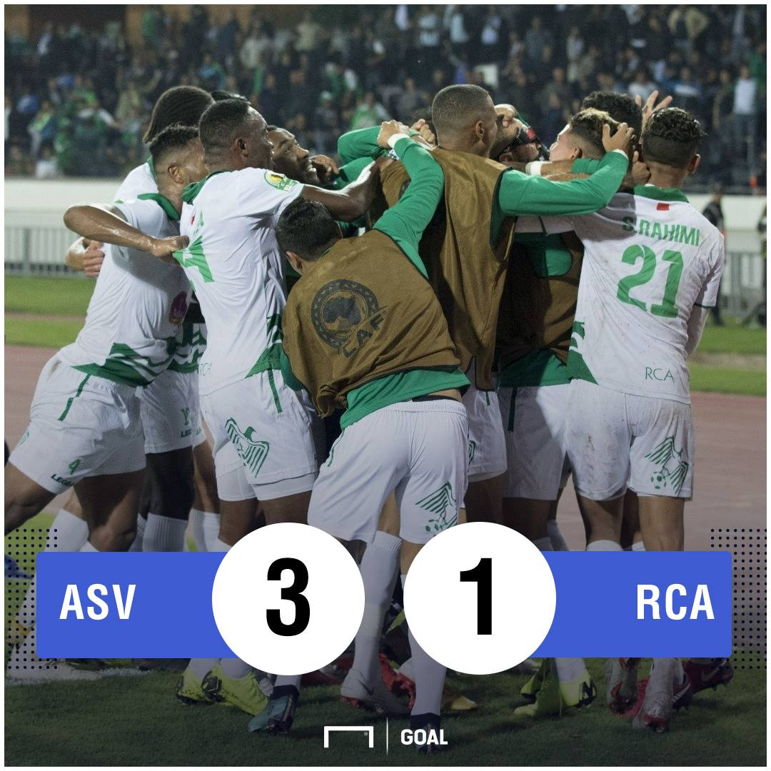 AS Vita Raja Casablanca Confed Cup final scoreline PS