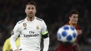Sergio Ramos, Real Madrid vs Roma