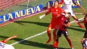 Captura penal Navarro San Lorenzo Newells Superliga 17022018