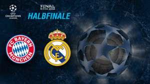 GFX Bayern Munchen Real Madrid