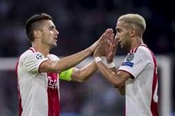 Ziyech Tadic Ajax vs AEK