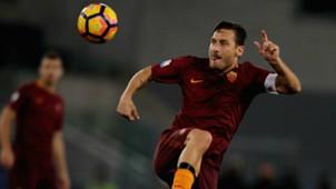 Francesco Totti Roma Serie A 2016-17