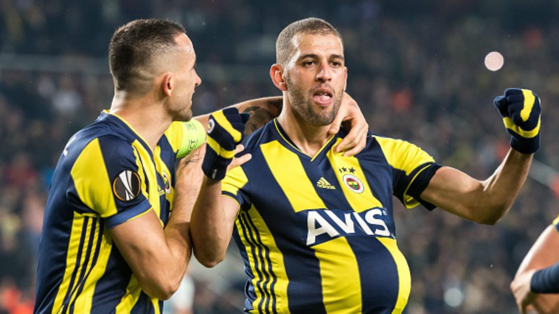 Fenerbahçe Zenit: Slimani Scores Opens 2019 Account In Fenerbahce's Europa