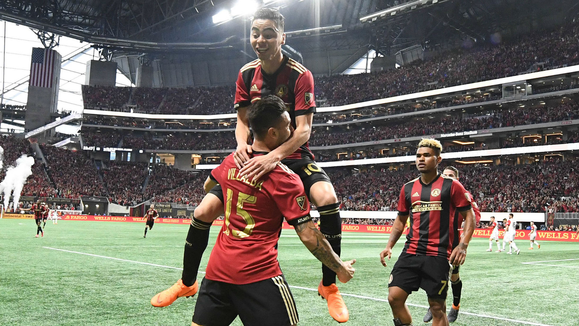 Atlanta United wins home opener before another record crowd